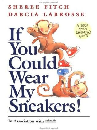 book cover of If You Could Wear My Sneakers!