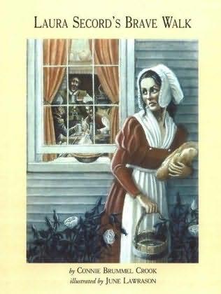 book cover of Laura Secord\'s Brave Walk