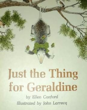 book cover of Just the Thing for Geraldine