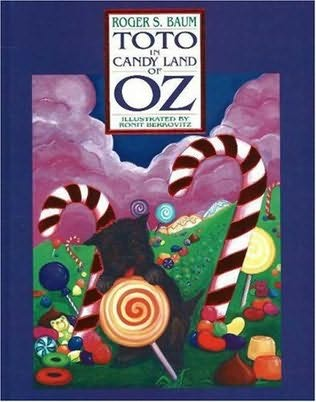 book cover of Toto in Candy Land of Oz