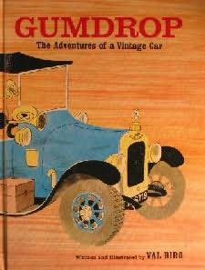 book cover of The Adventures of a Vintage Car