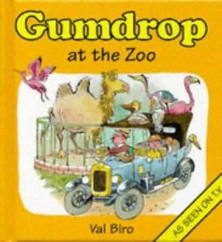 book cover of Gumdrop At the Zoo