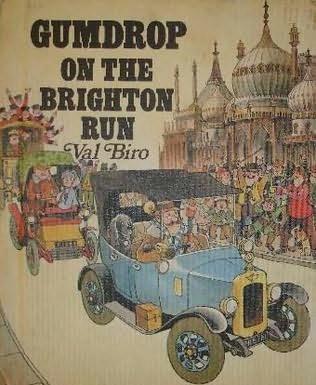 book cover of Gumdrop On the Brighton Run