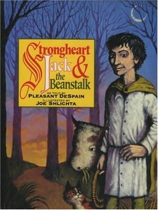 book cover of Strongheart Jack and the Beanstalk