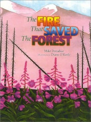 book cover of Fire That Saved the Forest