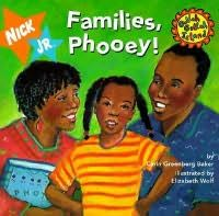 book cover of Families, Phooey!