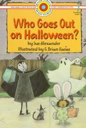 book cover of Who Goes Out On Halloween?