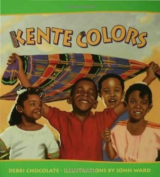 book cover of Kente Colors