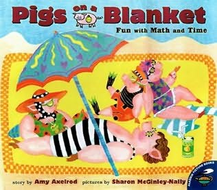 book cover of Pigs On A Blanket