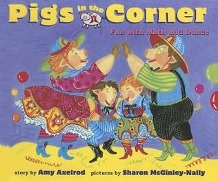 book cover of Pigs in the Corner