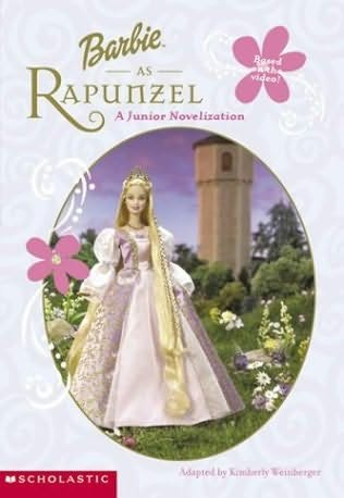 book cover of Barbie As Rapunzel