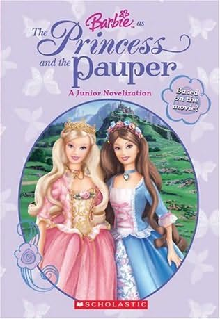 book cover of Barbie As the Princess and the Pauper