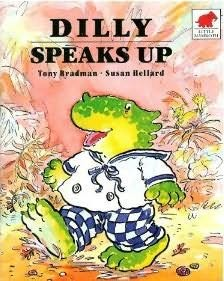 book cover of Dilly Speaks Up