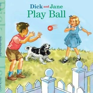 book cover of Dick and Jane Play Ball