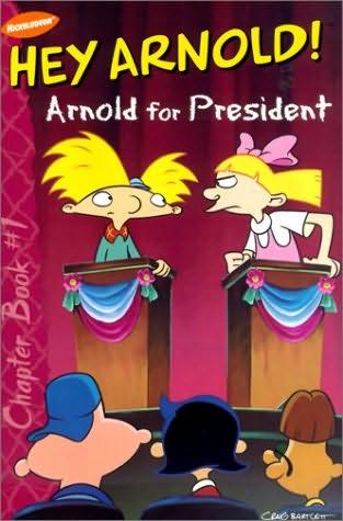 book cover of Arnold for President