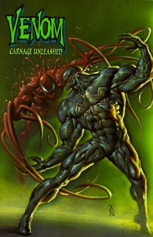 book cover of Venom: Carnage Unleashed