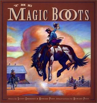 book cover of The Magic Boots