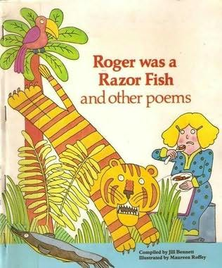 book cover of Roger Was a Razor Fish