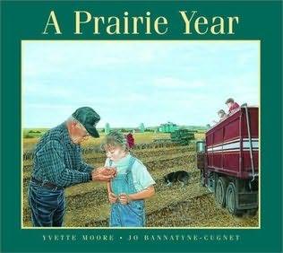 book cover of A Prairie Year
