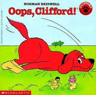 book cover of Oops, Clifford!