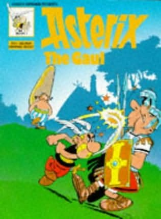 book cover of Asterix The Gaul (Asterix, book 1) by Goscinny and Uderzo 2011