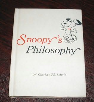 book cover of Snoopy\'s Philosophy