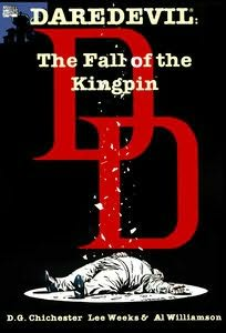 book cover of Daredevil : The Fall of the Kingpin