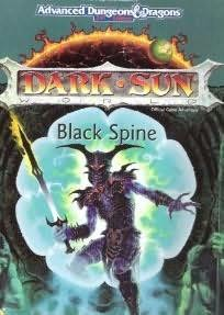 book cover of Black Spine (Dark Sun)