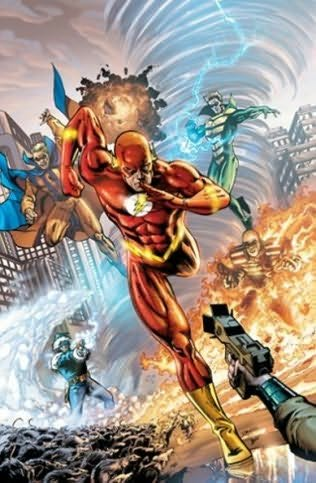 book cover of Flash Fastest Man Alive - Full Throttle