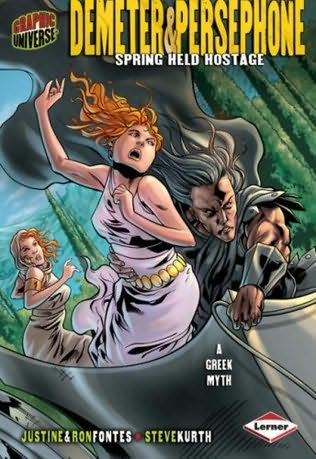 book cover of Demeter & Persephone: Spring Held Hostage