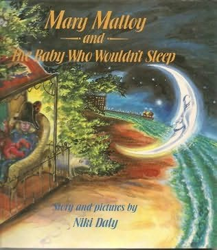 book cover of Mary Malloy, the Crescent Moon and the Baby Who Couldn\'t Sleep