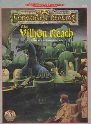 book cover of The Vilhon Reach