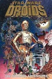 book cover of Star Wars: Droids