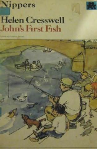 book cover of John\'s First Fish