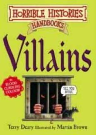 book cover of Villains