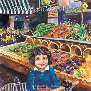 book cover of Sasha Goes Shopping