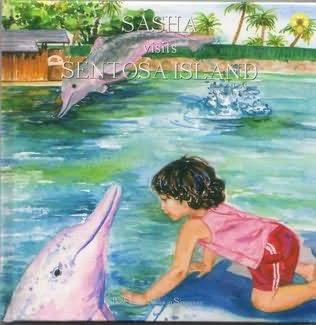 book cover of Sasha Visits Sentosa Island