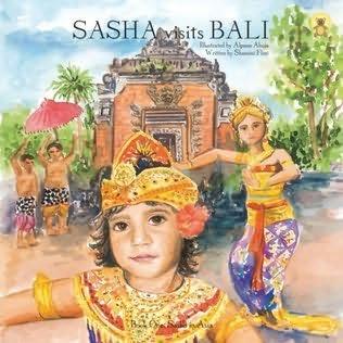 book cover of Sasha Visits Bali