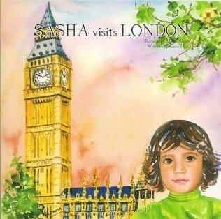book cover of Sasha Visits London