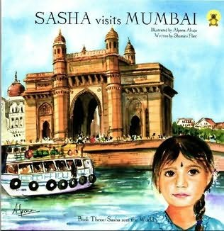 book cover of Sasha Visits Mumbai