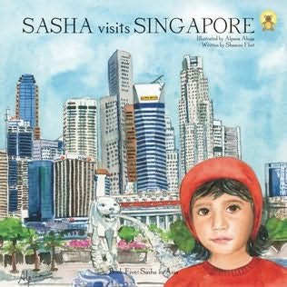 book cover of Sasha Visits Singapore