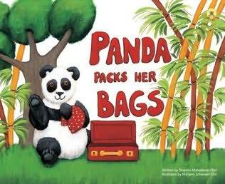 book cover of Panda Packs Her Bags
