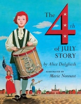 book cover of The Fourth of July Story