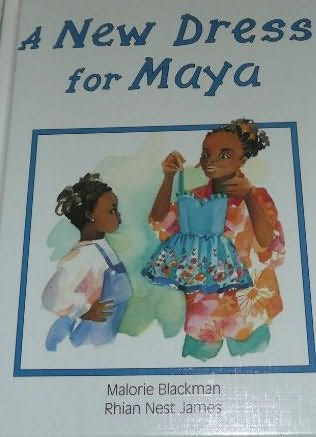 book cover of A New Dress for Maya