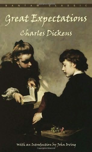 book cover of   Great Expectations   by  Charles Dickens
