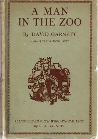 book cover of A Man in the Zoo