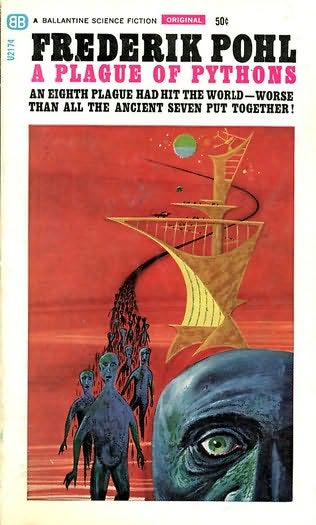 book cover of A Plague of Pythons
