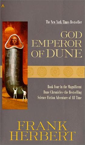 book cover of God Emperor of Dune