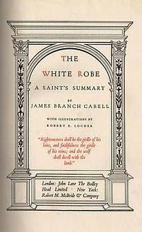 book cover of The White Robe