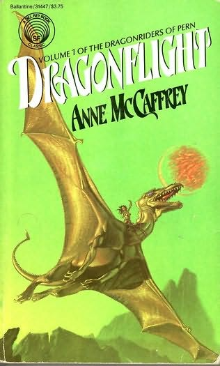 Book Cover: Dragonflight by Anne McCaffrey